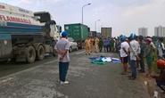 Cán chết người, tài xế container trốn khỏi hiện trường