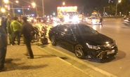 Xế hộp biển Nghệ An nổi điên gây tai nạn trên phố Hà Nội