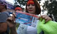 Nhiều vé giả trước trận U23 Việt Nam - U23 Hàn Quốc
