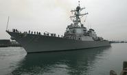 Tàu khu trục Mỹ bắn cảnh cáo tàu Iran