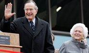 Cả vợ chồng ông Bush cha cùng nhập viện