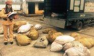 Xe tải chở hơn 2 tấn bì heo thối đi bán ngày 29 Tết