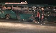 Nổ xe khách giường nằm, 14 người thương vong