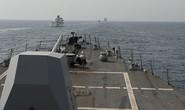 Tàu Iran ép tàu hải quân Mỹ chuyển hướng ở eo biển Hormuz