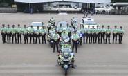 Hồng Kông tập chống khủng bố lao xe để bảo vệ Chủ tịch Trung Quốc