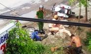 Đèo 3 bỏ chạy tông vào xe CSGT làm 2 người bị thương