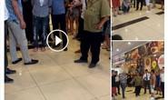 Người đàn ông nghi dâm ô với thiếu nữ tại trung tâm thương mại