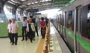 Háo hức mục sở thị đoàn tàu đường sắt Cát Linh - Hà Đông