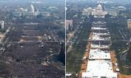 Lễ nhậm chức của ông Trump thưa thớt hơn ông Obama