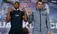 Đại chiến quyền Anh Joshua - Klitschko