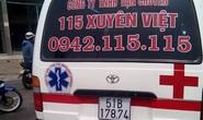 Bác sĩ lên facebook vạch trần xe cấp cứu nhái
