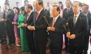 Chủ tịch nước dâng hương Chủ tịch Hồ Chí Minh