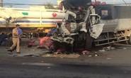 Va chạm kinh hoàng giữa xe đầu kéo và xe tải, 2 người chết