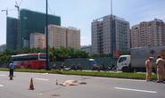 Một phụ nữ bị xe tải cán chết trên đường Võ Văn Kiệt