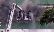 Cháy dữ dội ở Công ty Pou Yuen