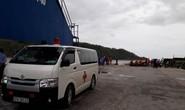 Chìm tàu 4.700 tấn, 13 thuyền viên mất tích: 1 người đã tử vong