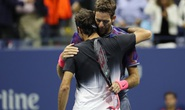 Del Potro hạ Federer, vào bán kết gặp Nadal
