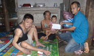 Nhà từ thiện bị lừa mất 49 triệu đồng tiền ủng hộ nạn nhân bão lũ