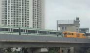Trầm trồ khi thấy đoàn tàu trên cao Cát Linh-Hà Đông vận hành