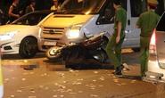 Ô tô và xe máy tông nhau, 1 người văng xuống đường tử vong