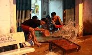 Sài Gòn hụp lặn trong nước ngập đêm đầu tuần