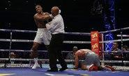 Xem Joshua hạ knock-out tay đấm thép Klitschko