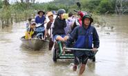 Mưa lũ gây ngập nhiều vùng ở Quảng Nam, Thừa Thiên - Huế