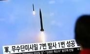 Ông Trump im lặng trước vụ thử tên lửa của Triều Tiên