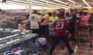 Dân Mỹ tranh giành lương thực, bão lớn đổ bộ