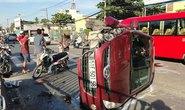 Ô tô va xe máy, một thanh niên tử nạn