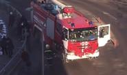 Nga: Xe cứu hỏa đâm trạm xe buýt, 5 người thương vong