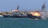 Bất ổn tàu chiến Mỹ (*): Dè chừng Hải quân Nga
