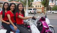 Biệt đội xế nữ không ôm số 1 Phnom Penh