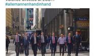 Hà Lan: Đàn ông nắm tay nhau phản đối kỳ thị đồng tính