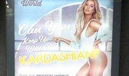 Quảng cáo của siêu mẫu Khloe Kardashian gây tranh cãi
