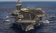 Hai tàu sân bay Mỹ cùng huấn luyện, gửi thông điệp đến Triều Tiên