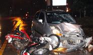 Xe điên tông hàng loạt xe máy, ít nhất 2 người nguy kịch