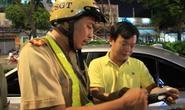 Trong một giờ, CSGT phải lái xe giúp 6 tài xế