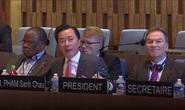 Cận cảnh buổi thi làm Tổng Giám đốc UNESCO của Đại sứ Phạm Sanh Châu