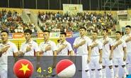 Clip futsal Việt Nam ngược dòng nghẹt thở hạ Indonesia