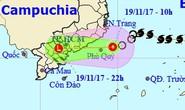 Áp thấp nhiệt đới gây gió giật cấp 7-8 ở TP HCM, Nam bộ