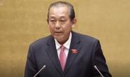 Phó Thủ tướng Thường trực Trương Hòa Bình trả lời chất vấn