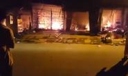 Cháy lớn chợ huyện ngày thần tài