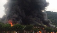 Cháy lớn tại chợ Tân Thanh-Sài Gòn gần cửa khẩu Tân Thanh