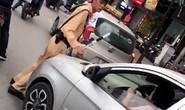 Mời nữ tài xế nhấn ga ủn CSGT trên phố tới làm việc