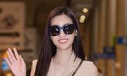 Hoa hậu Đỗ Mỹ Linh rạng rỡ ngày trở về