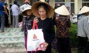 Báo Người Lao Động cùng Vissan cứu trợ người dân vùng tâm bão