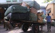 Phát hiện 10 tấn hàng lậu trên tàu hỏa
