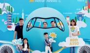 2,2 triệu lượt khách trải nghiệm siêu máy bay Airbus A350 của Vietnam Airlines