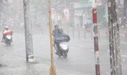 TP HCM mưa, dông lớn